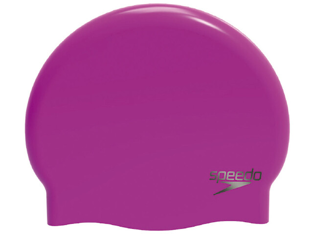 speedo Plain Moulded Badehætte pink